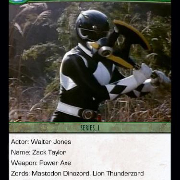 Custom Power Rangers Cards