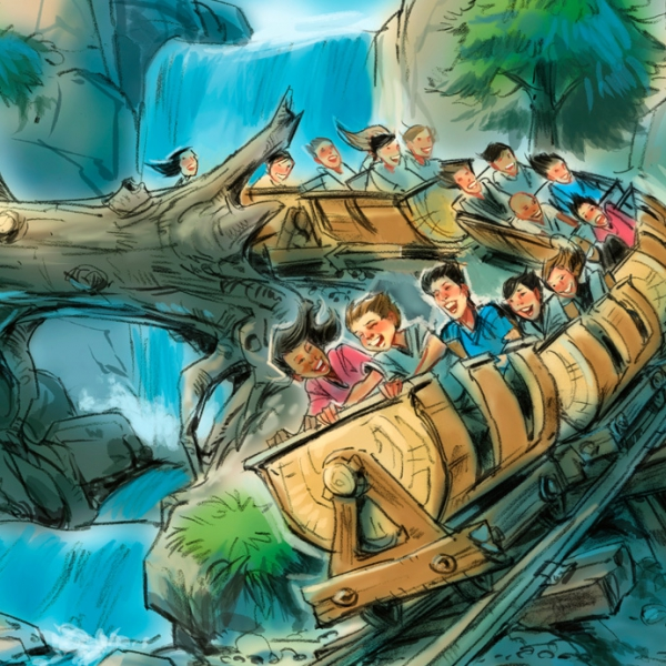Disney-new-fantasyland-seven-dwarfs-mine-train-concept-art