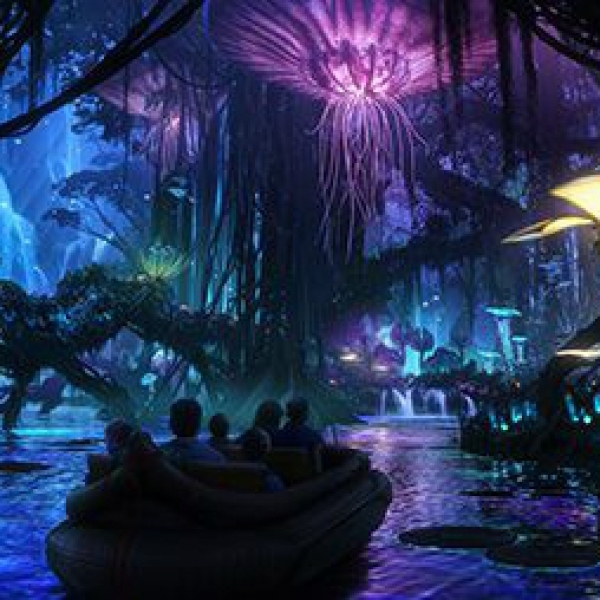 Avatarland boat ride