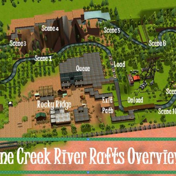 Pine Creek River Raft 2