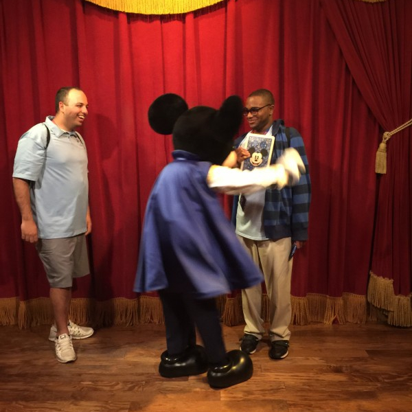 Mickey's Card Trick part 2 (April,28,2015)