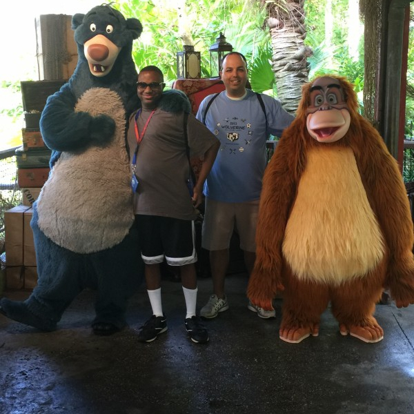 Meeting Baloo And King Louie (April 2 2015)