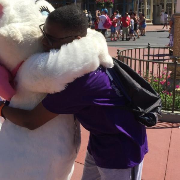 Final hug (May 2 2015)