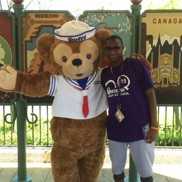 Posing with Duffy (May 2 2015)