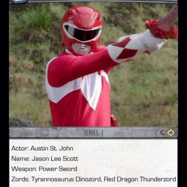 1. Red Ranger