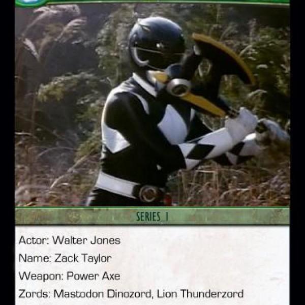 4. Black Ranger