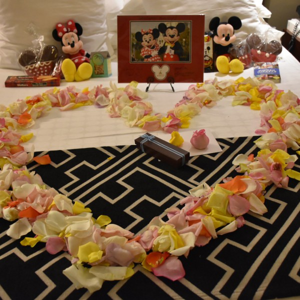 Romance with Rose Petals