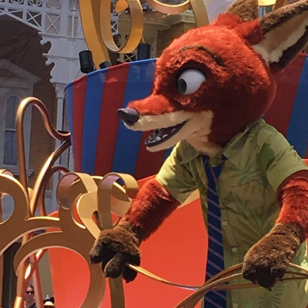 Nick Wilde in Move It, Shake It