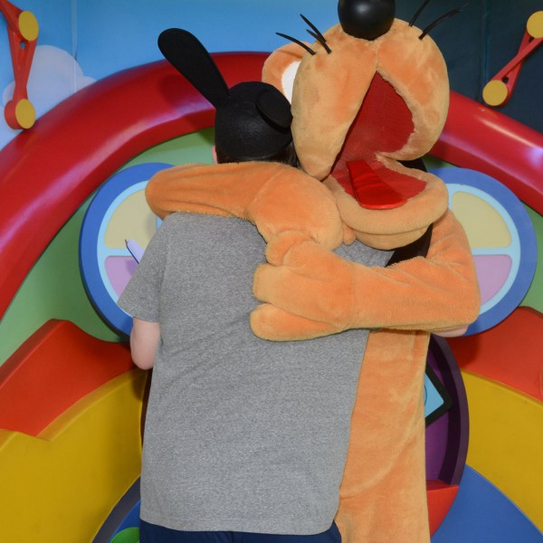 Hugging Pluto