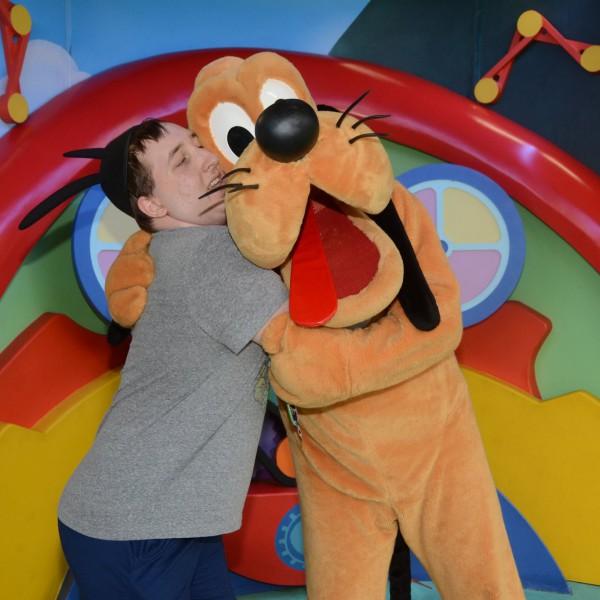 Hugging Pluto again