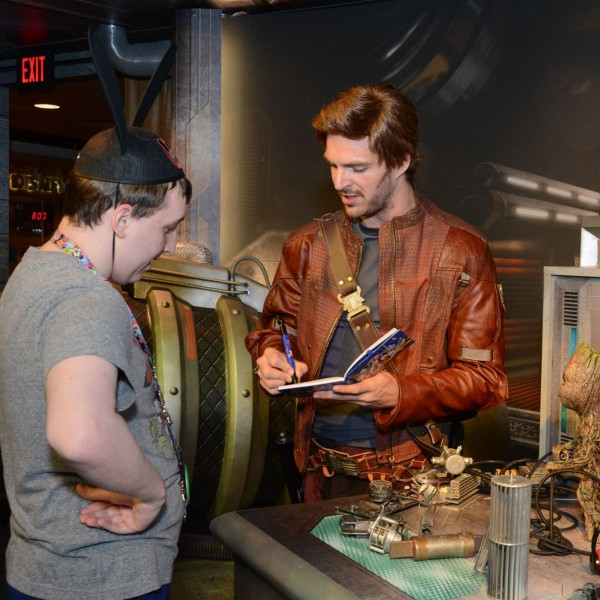 Talking with Star Lord