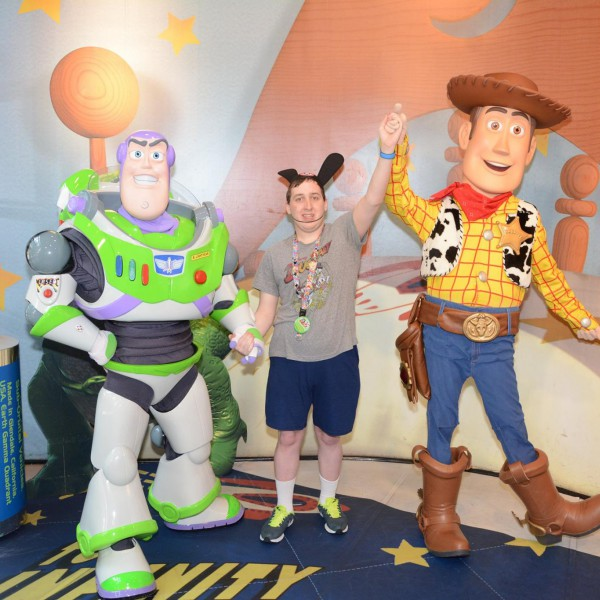 To Infinity and Beyond with Buzz and Woody