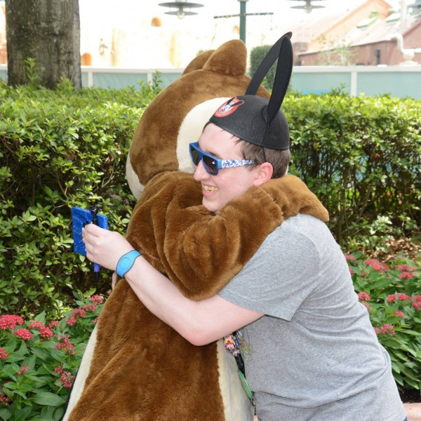 Hugging Chip