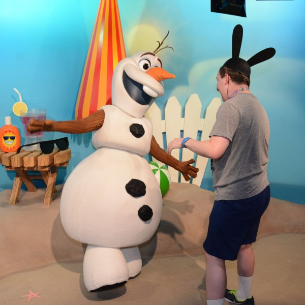 "Me Singing and Dancing ""In Summer"" to Olaf"