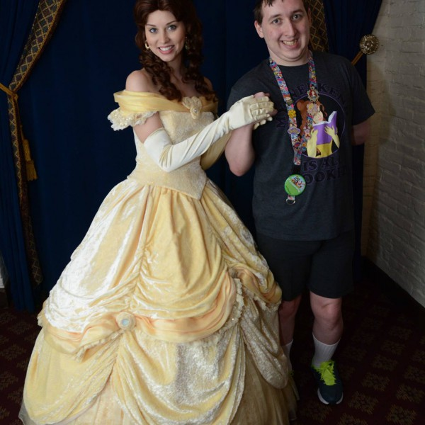 Me and Belle at Akershus(2/2)