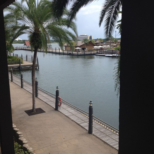 View from the Polynessian Village Resort