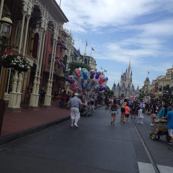 We're Nearing Cinderella Castle