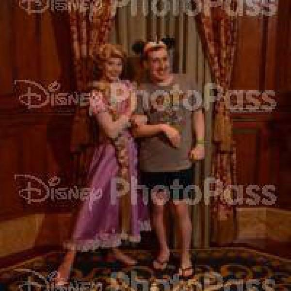 Rapunzel's Holding my Arm