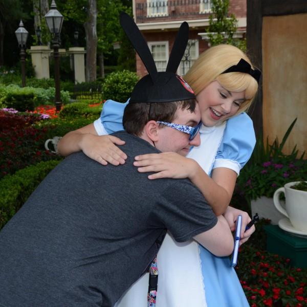 Hugging Alice