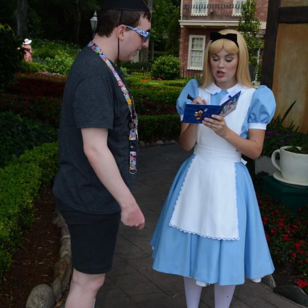 Getting Alice's signature