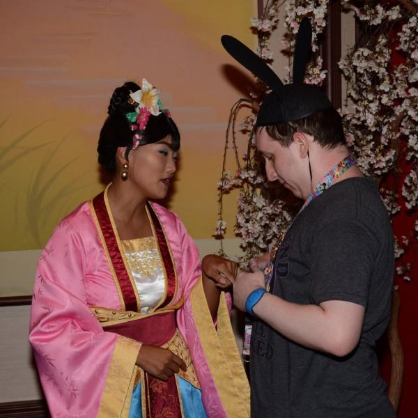 Talking with Mulan