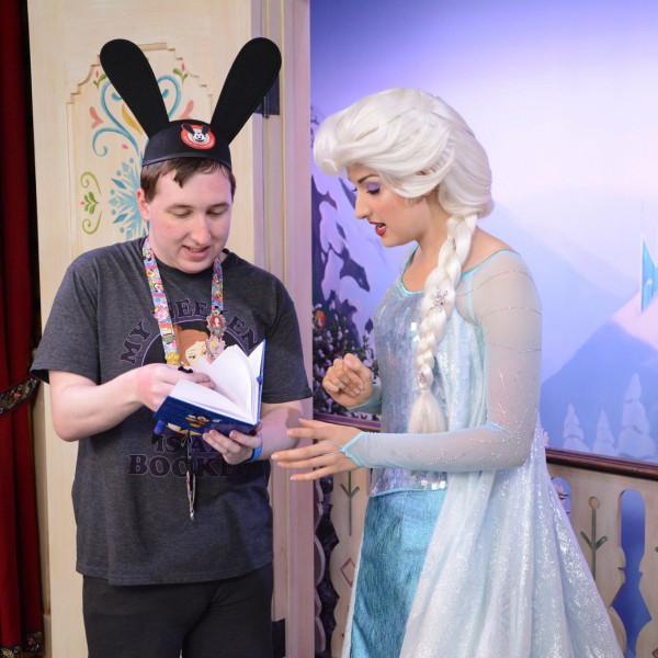 Me and Elsa start talking