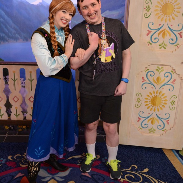 Anna's Holding my Arm