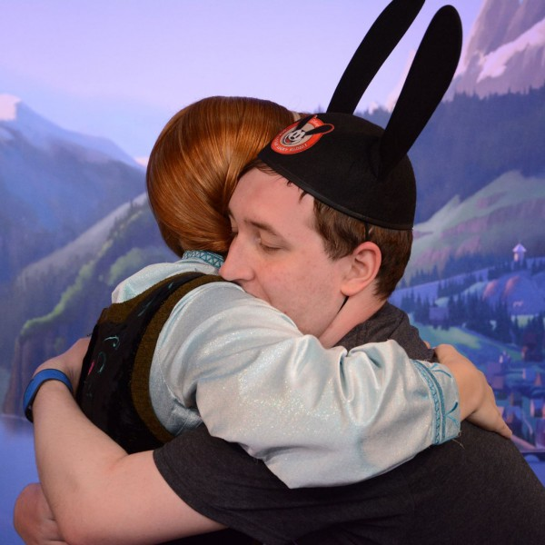 Warm Hugs for Anna