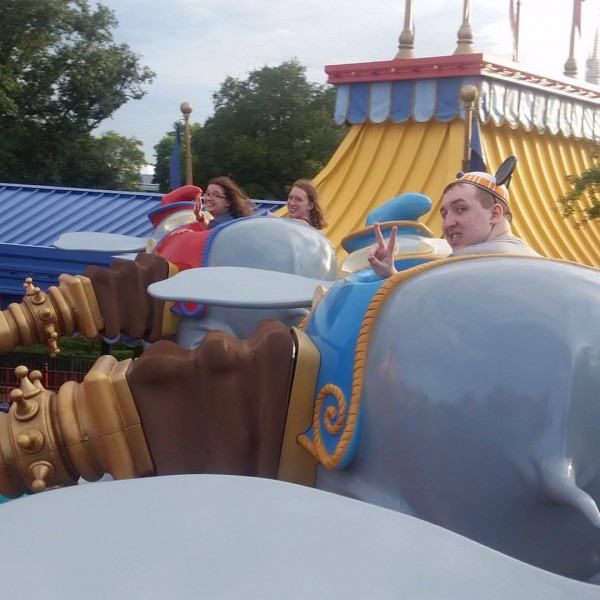 Me and Sisters on Dumbo(2.0)