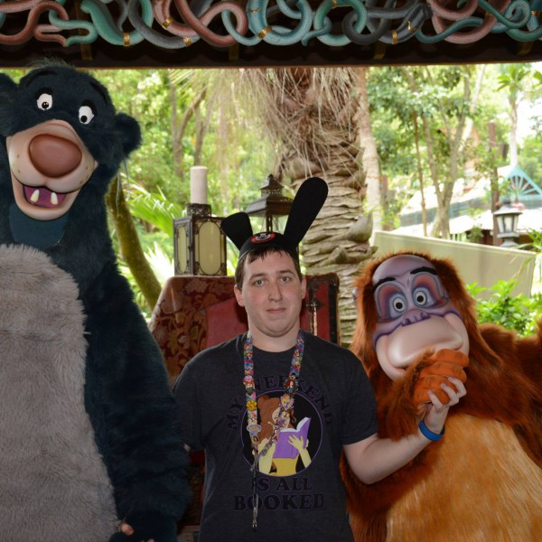Meeting Baloo and Louie