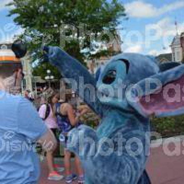 Meeting Stitch on Main Street