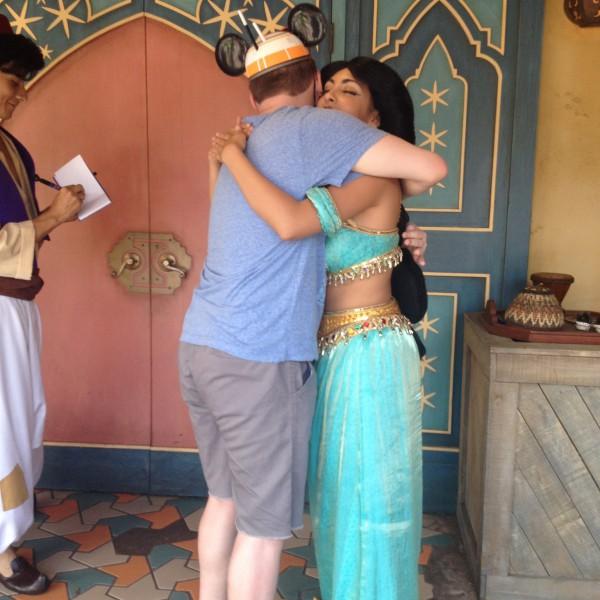 Hugging Princess Jasmine(2016)(2/2)
