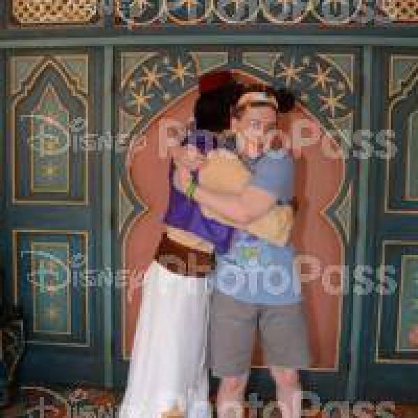 Hugging Aladdin