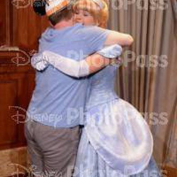 Hugging Cinderella