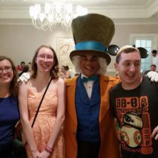 Mad Hatter at 1900 Park Fare