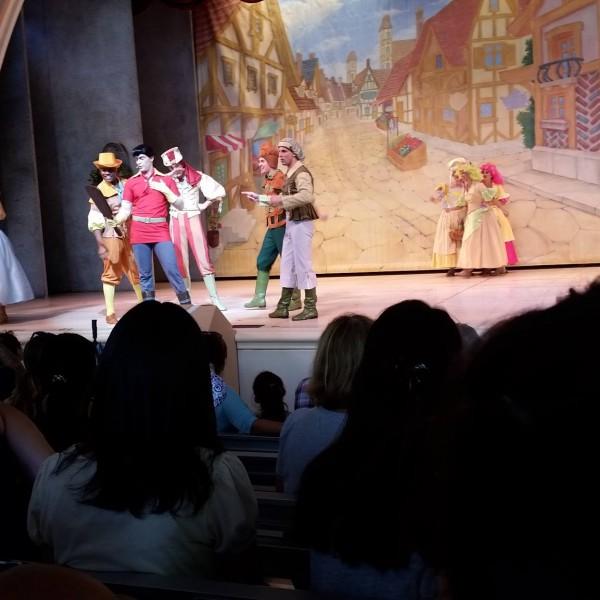 Gaston Singing His Song