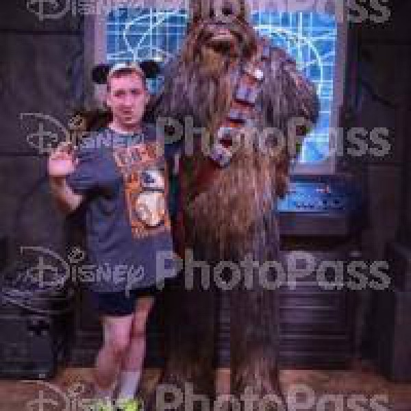Me with Chewbacca(2016)