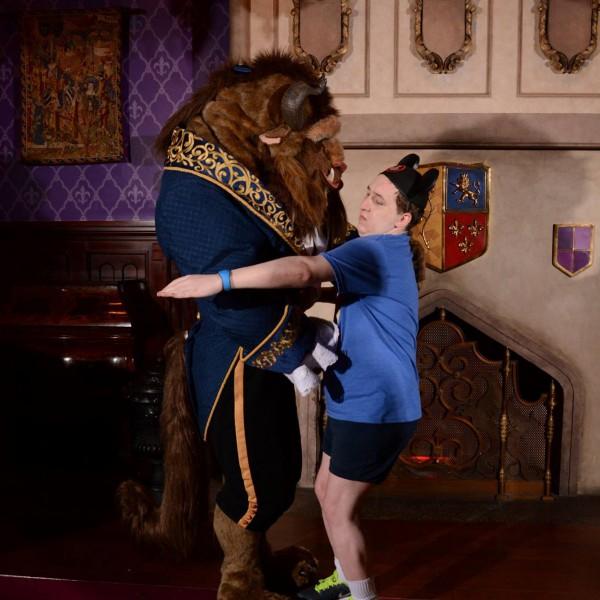 Giving Beast a Hug