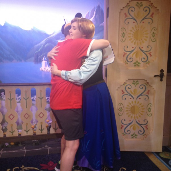 One More Warm Hug for Princess Anna