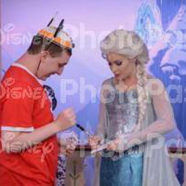 Beginning to Talk to Queen Elsa