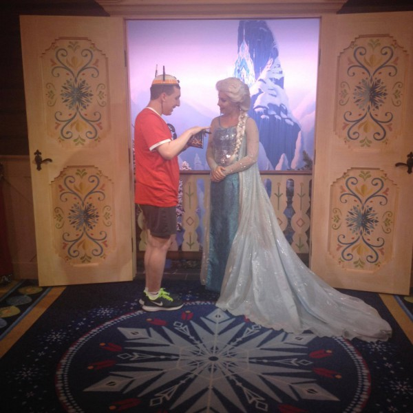 Talking to Queen Elsa