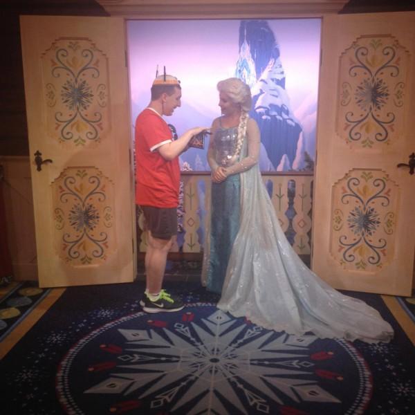 Talking to Queen Elsa