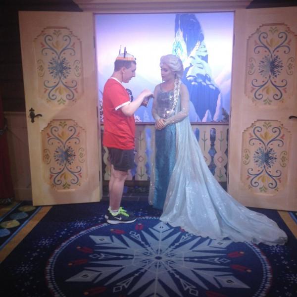 Still Talking to Queen Elsa