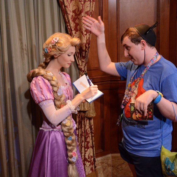 Telling Rapunzel Why She's my Favorite Princess