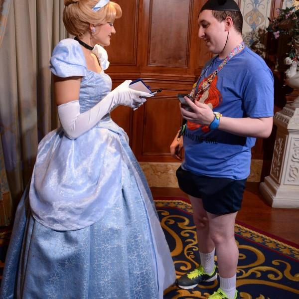 Talking with Cinderella
