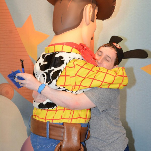 First Hug for Woody
