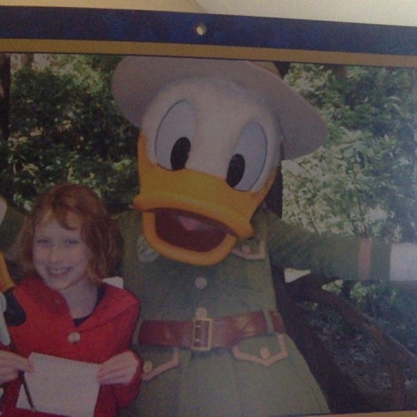 My Little Sis with Donald Duck