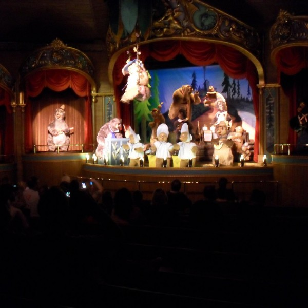 Finale of the Country Bear Jamboree