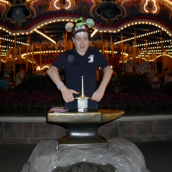Me with the Sword in the Stone(2011 edition)