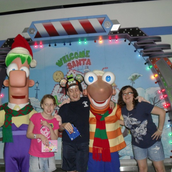 Meeting Phineas and Ferb(2/2)